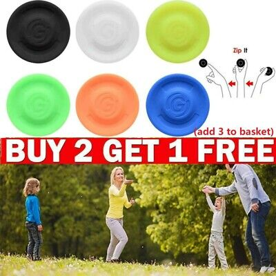 £7.43 • Buy Mini Flying Disc Soft Spin Outdoor Sports Training Gravity Game Disk Flexible