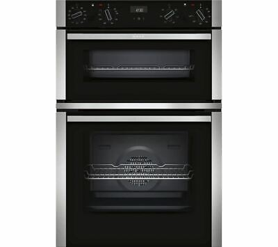 £609.95 • Buy Neff U1ACE5HN0B Electric Double Oven, Stainless Steel