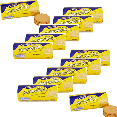 £14.99 • Buy Crawford's Thin Arrowroot Biscuits 200g Case Of 12