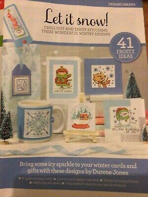 £1.99 • Buy (XN) 41 Let It Snow Designs For Cards And Gifts Christmas Cross Stitch Chart