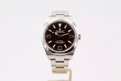 $ CDN12775.57 • Buy Rolex Explorer 214270 39mm Box And Papers 2013