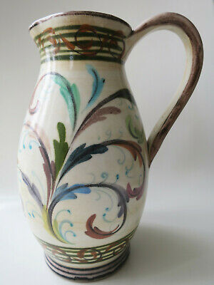 £19.99 • Buy Denby Stoneware - Glyn Colledge  Glyn Ware  Hand Painted Decorative Jug, Signed