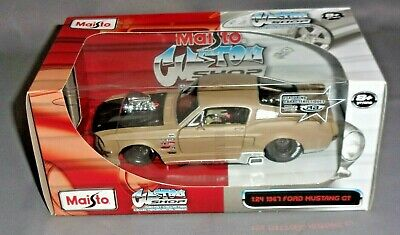 $19.99 • Buy Maisto 1967 FORD MUSTANG GT Custom Shop 1/24 Scale New Mint In Original Box