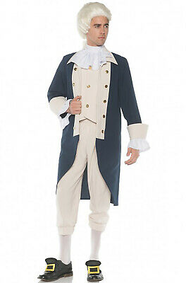 $37.12 • Buy Brand New Colonial George Washington Founding Father Adult Costume
