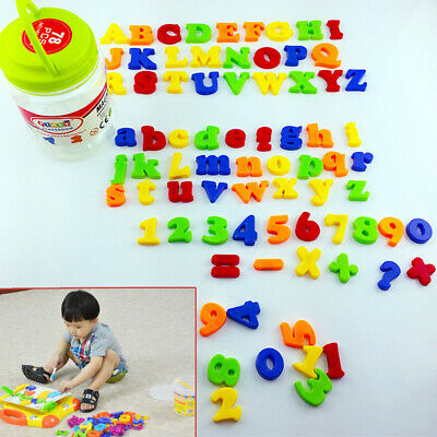£6.75 • Buy 78PCS Magnetic Numbers Alphabet Letters Fridge Xmas Magnets Gift Learning Toy