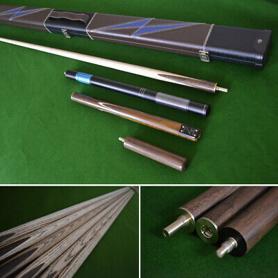 £64.99 • Buy 57  Handmade 3/4 Snooker Cue Set With Stunning Case And Telescopic Extension