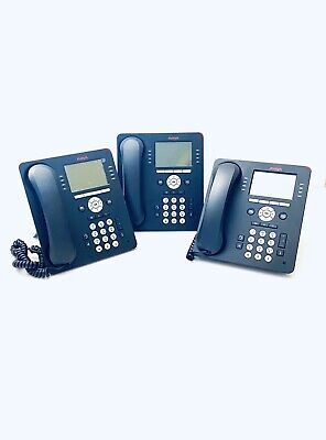 £44.99 • Buy Avaya 9608G Business Home Office Desk Phone Telephone Grey X3 Units Stands Cords