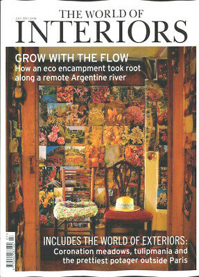 £5.95 • Buy The World Of Interiors Magazine Issue July 2021 ~ New ~