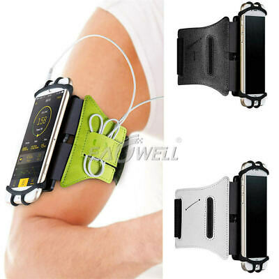 AU26.59 • Buy Universal 180° Rotating Armband Wristband Phone Holder Cover For Running Sports