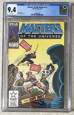 $142.28 • Buy Masters Of The Universe Nr. 7 - Marvel Star Comic CGC 9,4
