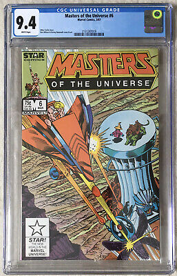 $130.43 • Buy Masters Of The Universe Nr. 6 - Marvel Star Comic CGC 9,4