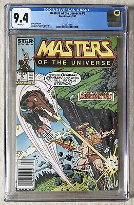 $148.21 • Buy Masters Of The Universe Nr. 8 - Marvel Star Comic CGC 9,4 Grading