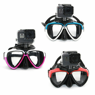 AU23.79 • Buy Swimming Goggles Diving Scuba Snorkel Glasses For GoPro 9 8 Osmo Action