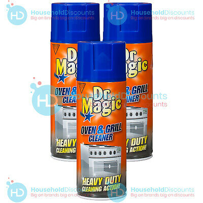 £6.99 • Buy 3 X Dr Magic Oven Grill & Bbq Cleaner Heavy Duty Action Cleaning Spray 390ml