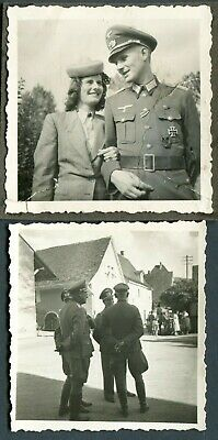 £4.99 • Buy D8/5 Ww2 Original Photo Of German Wehrmacht Officer With Iron Cross