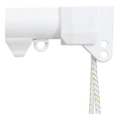 £55 • Buy Silent Gliss White Metal Cord Operated Curtain Track System - Various Lengths