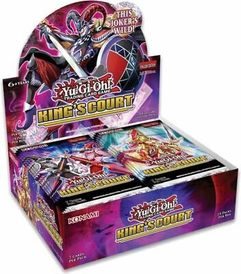 £58.95 • Buy YuGiOh! King's Court Sealed Booster Box 24 Packs 1st Edition