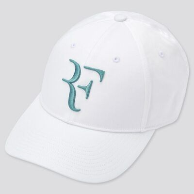 £29.12 • Buy Uniqlo Roger Federer Wimbledon 2021 White Teal Tennis RF Cap / Hat - New Tags