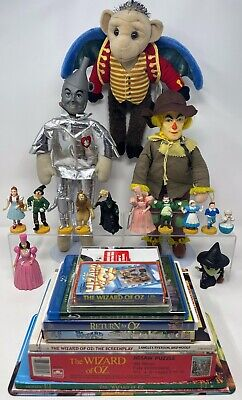 £107.32 • Buy 1988 Wizard Of Oz MGM Turner Collectible Figures, Mego Dolls Toy Lot & More!!