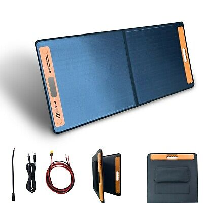 £95 • Buy 60W Foldable Portable Solar Panel Charger Power Kit Battery 12V Mono Camping