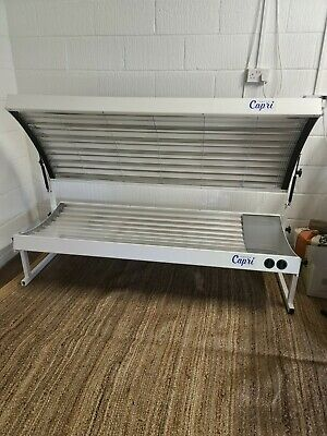 £1295 • Buy  Sunbed Lie Down Tansun Capri 19 Tube Electronic Fast Tan Extra Wide Home Sunbed