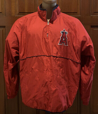 $35 • Buy Los Angeles Angels Pullover Warm-Up Jacket Size XL