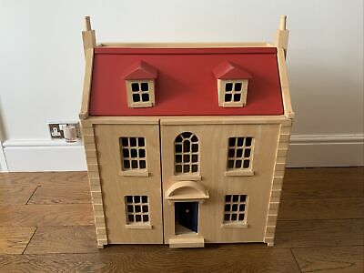 £40 • Buy Wooden Dolls House With Accessories