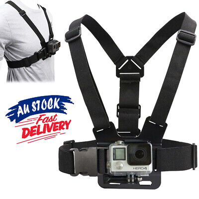 AU11.52 • Buy Compatible With GoPro Hero Chest Camera GoPro Strap Adjustable Harness Mount