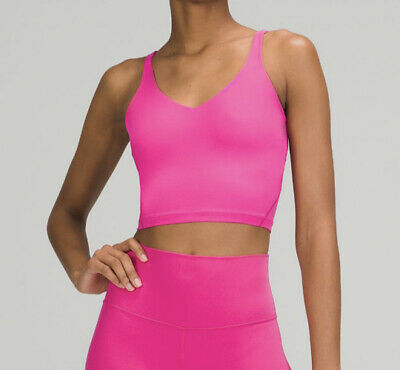 $ CDN99.58 • Buy Lululemon Align Tank Sonic Pink Size 10 New Sold Out FREE SAME DAY SHIP
