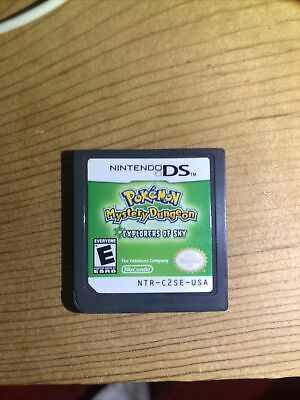 $90 • Buy Pokemon Mystery Dungeon: Explorers Of Sky; 100% Legit Cartridge Only Tested