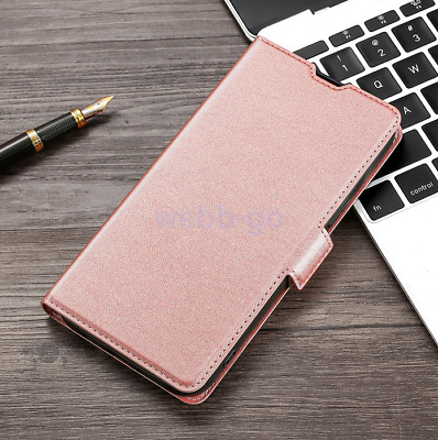 AU10.83 • Buy For OPPO A3 A37 A39 A57 Slim Magnetic Flip PU Leather Wallet Case Cover