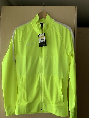 £16.99 • Buy New Nike Academy Dry Full-zip Track Top Jacket Football Gym Running Size Small