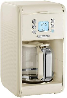 £42.99 • Buy Morphy Richards 163006 Verve Pour Over Filter Coffee Machine, Cream