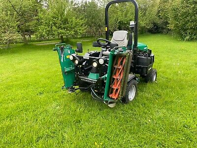 £7335 • Buy Ransomes Highway3 Triple Cylinder Ride On Mower 4WD