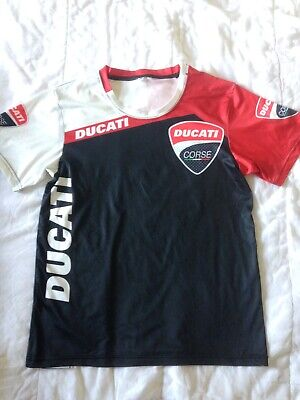 £7 • Buy Motorcycle Racing Ducati Bsb British Superbikes Tee-shirt Top Size Youth Xs