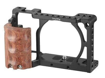 $ CDN52.28 • Buy SmallRig Aluminum Camera Cage With Wooden Handgrip For Sony A6000/A6300 2082 US