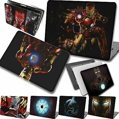 $13.94 • Buy Matte Rubberized Iron Man Hard Cut Out Case Shell Cover For New Macbook Pro Air