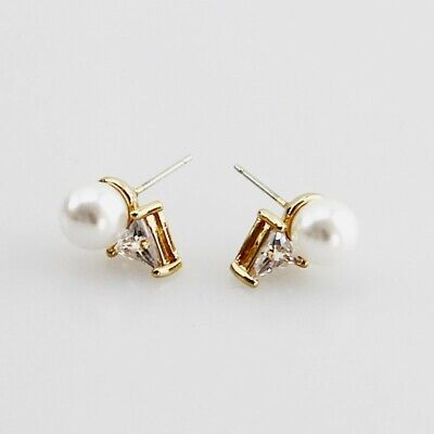$ CDN21.39 • Buy Kate Spade New York White Pearl Stud Earrings Free Shipping With Dust Bag