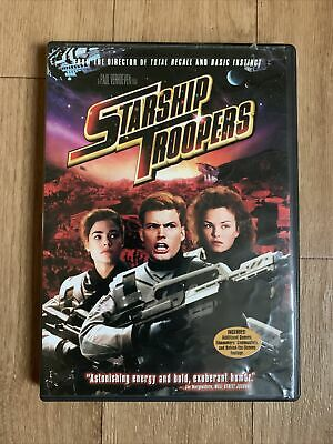 $ CDN3.99 • Buy Starship Troopers (DVD, 1998, Keep Case Multiple Formats Closed Caption)