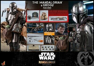 $ CDN597.23 • Buy Hot Toys 1/6th The Mandalorian And Grogu Collectible Set (Deluxe Version) TMS052