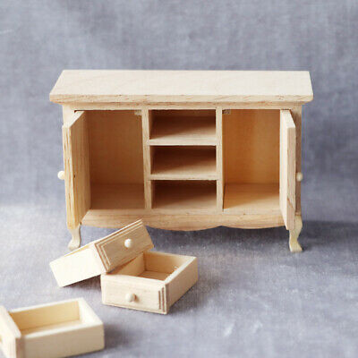 £7 • Buy Dollhouse Cabinet Dollhouse Furniture Accessories Bedroom For Boys Girls