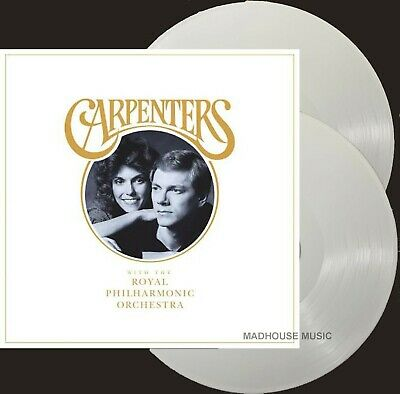 £24.95 • Buy The CARPENTERS LP X 2 With The Royal Philharmonic Orchestra 180g WHITE VINYL RPO