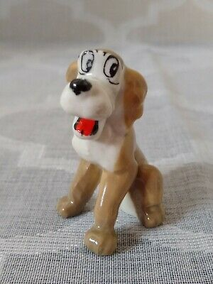 £8 • Buy Wade Toughy The Dog Disney Lady And The Tramp Ceramic Figure Hat Box Series