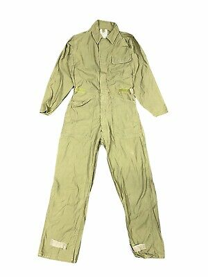 $23.50 • Buy US Army Green Cotton Sateen Coveralls Military Men Size Small Type 1