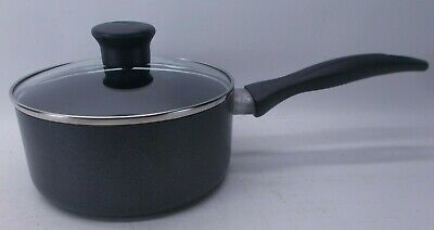 $ CDN12.58 • Buy T-FAL 2 Quart Sauce Pan With Glass Lid And Non-Stick Coating Black