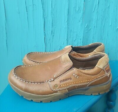 £35 • Buy Mens Dubarry Ireland Tan Brown  BENNY  Leather Shoes Sz  7/40 Slip On - QUALITY!