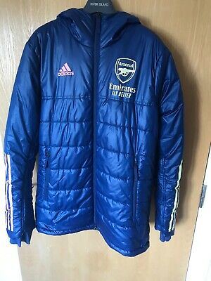 £30 • Buy Adidas Arsenal Puffer Hooded Jacket/coat 2020-21 Size Medium Excellent Condition