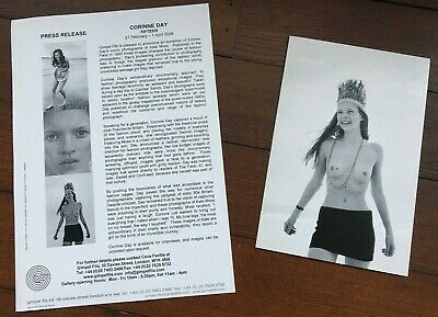 £45 • Buy Invitation Card To Corinne Day's Kate Moss Show At Gimpel Fils 2006