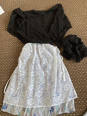 £6 • Buy Children's Victorian Day Dress Up Outfit For School Approx Age 6-9?