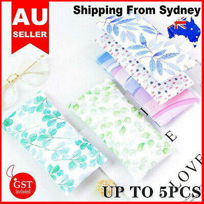 AU4.78 • Buy Mouth Snapped Sunglasses Eyeglass Glasses Case Soft Pouch Bag Pocket Spectacle